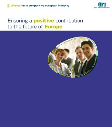Ensuring a positive contribution to the future of Europe - Cembureau