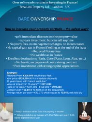 BARE OWNERSHIP FRANCE - Erna Low Property