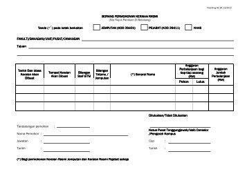 1) Borang Keraian Rasmi - UiTM Johor