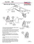 Part # 401- 1955 Chevy Wiring Harness for Back Up ... - Danchuk - Page 3