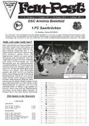 Ausgabe 201 - Fan-Projekt Bielefeld e.V.