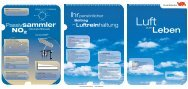 Luft zum Leben - Umwelt-/ Gesundheitsschutz - Winterthur
