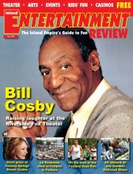 Bill Cosby - Inland Entertainment Review Magazine