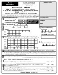 1NYS Application for Licensure