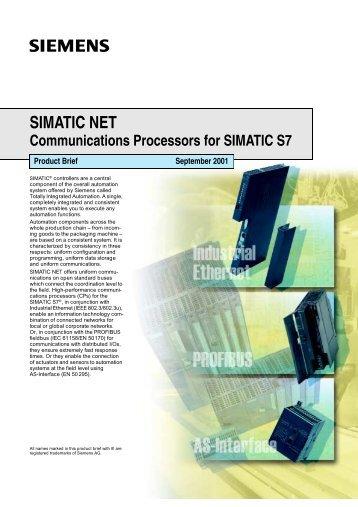 SIMATIC NET - CERN