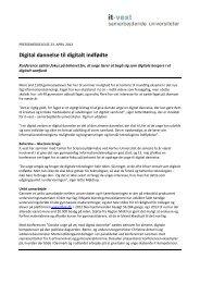 Digital dannelse til digitalt indfødte - IT-Vest