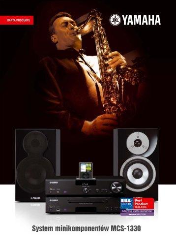 Nagroda EISA dla Yamaha MCS-1330 - AUDIO KLAN