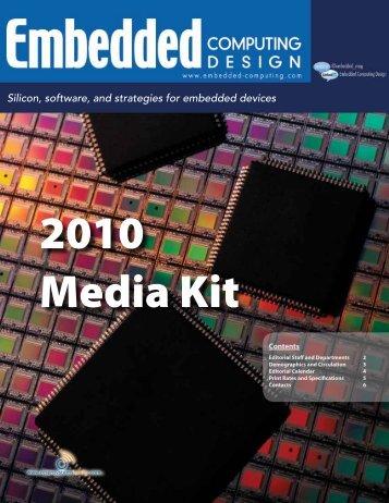 Embedded Computing Design 2010 Media Kit - OpenSystems Media
