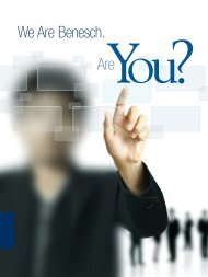 We Are Benesch. Are