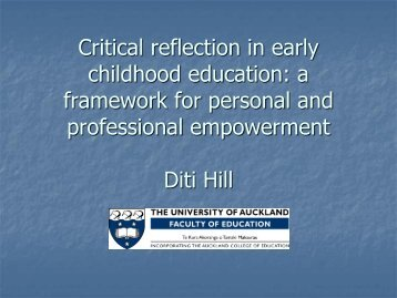 reflection on personal and professional development Include as part of the statement, personal reflection on the applicant's own  assessment of professional growth (a maximum of 5 clock hours can be earned  if all.