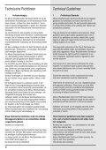 Technische Richtlinien Technical Guidelines - Westfalenhallen - Page 4