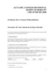 Acta 397 3 de Junio 2008 - CBI - UAM