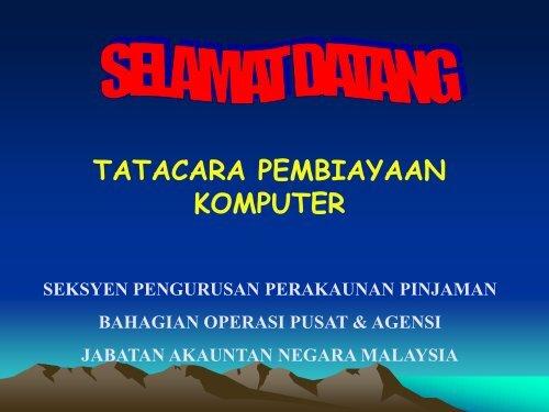 Tatacara Pinjaman Komputer Edit02022010 Nre