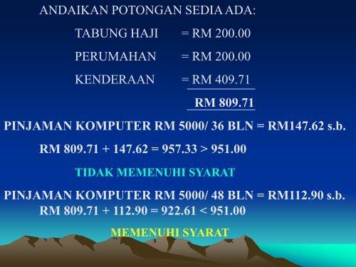 Tatacara Pinjaman Komputer (EDIT02022010) - NRE