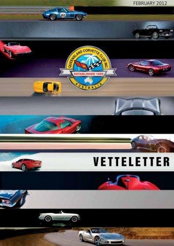 FEBRUARY 2012 - qld corvette club inc