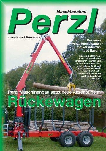 Rückewagen Perzl Maschinenbau setzt neue Akzente beim ...