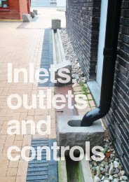 Inlets, outlets and controls