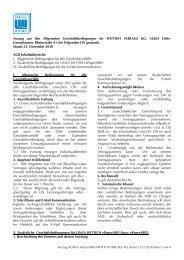 Auszug AGB für epaperabo WITTICH VERLAGE KG Stand 23.12 ...