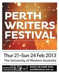 Perth Writers Festival