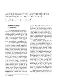 Asocieri traumatice - ati | anestezie terapie intensiva