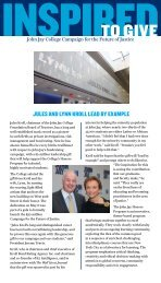 JULES AND LYNN KROLL LEAD BY ExAMPLE - John Jay College ...