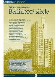 Berlin XXI siècle - Arts et Vie