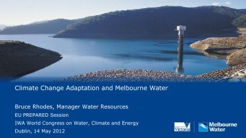 Climate Change Adaptation and Melbourne Water - Stream