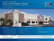 5450 STePHANIe STreeT - Property Line