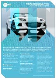 Mazda MX-5 Case Study - Fairfax Media Adcentre