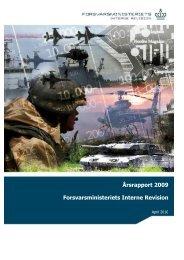 2009 - Forsvarsministeriet