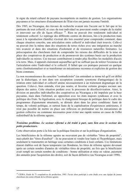 Réformes agraires, marchés fonciers, organisations paysannes - Agter
