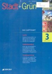 DAS GARTENAMT - Fachhochschule Erfurt