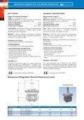 Regolatori di pressione alta pressione con blocco ... - Watts Industries - Page 2
