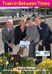 TT Summer 10 - Association of Community Rail Partnerships - Uk.com