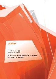 charte graphique d'arte pour le print