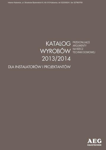 AEG - Katalog techniki grzewczej - Interex Katowice