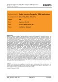 Audio Interface Design for GSM Applications - Wireless Data Modules - Page 2