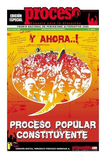 Nro 27 / Enero 2008 - Antiescualidos