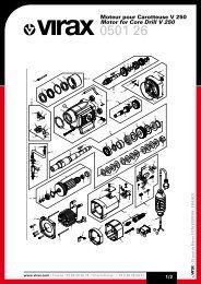 050126_a moteur carotteuse V250 / Motor For Core Drill V250