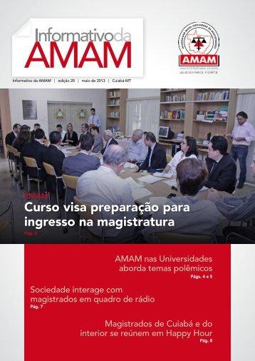 Edição do Mês de Maio/2013 - Amam