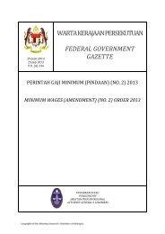 (No.2) 2013 - Kementerian Sumber Manusia