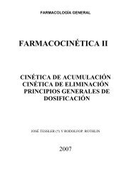 FARMACOCINÉTICA II - FarmacoMedia