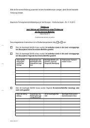 De-minimis-Erklärung - BioJapan 2013