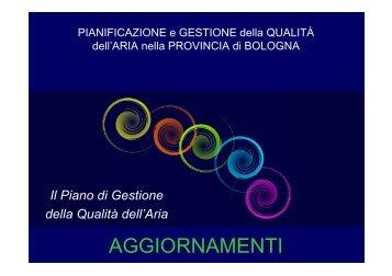 Conferenza di Pianificazione (aggiornamenti) - Aria.provincia ...