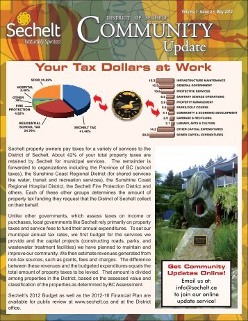 Understanding Your 2012 Property Tax Notice - District of Sechelt