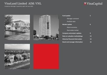 VNL Q2 2013 report - VinaCapital
