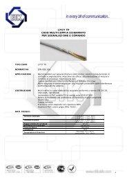 Cavi LiYCY (TP) - Gfo Europe S.p.A.