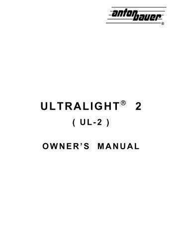 ULTRALIGHT 2 - Hollywood Studio Rentals