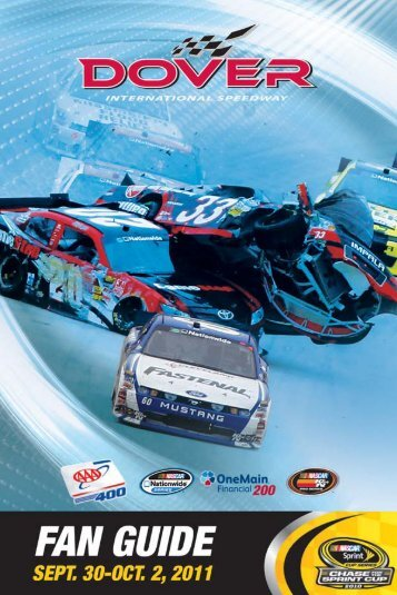 A range of auto-related services. - Dover International Speedway