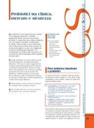 Probiotici tra clinica, mercato e sicurezza - Sied